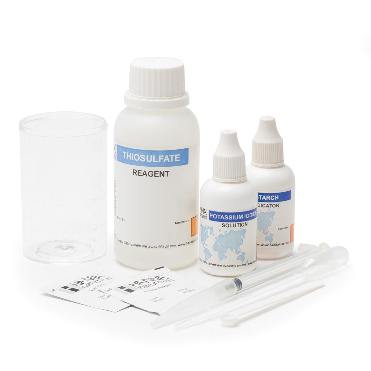 HI38023 Total Chlorine Extended Range Test Kit