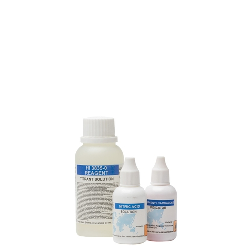 Salinity Chemical Test Kit Replacement Reagents (110 tests) - HI3835-100