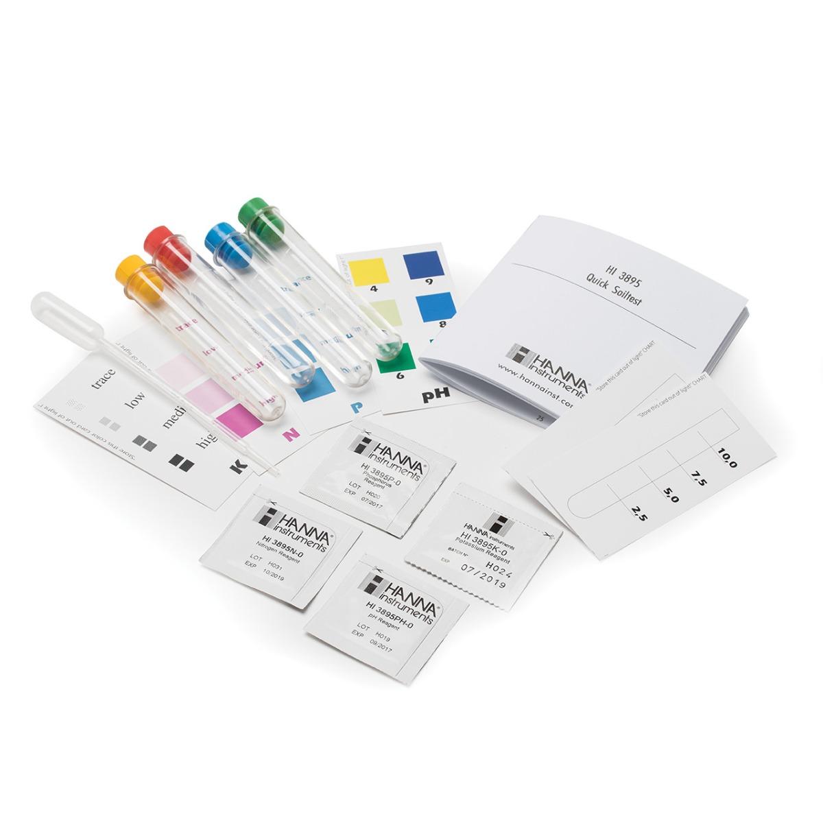 HI3895 Quick Soil Test Kit
