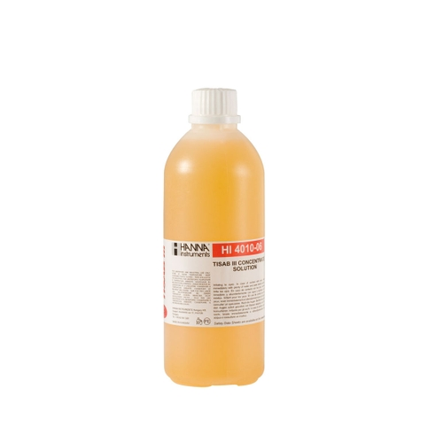 HI4010-06 TISAB III Concentrate for Fluoride ISEs (500 mL)