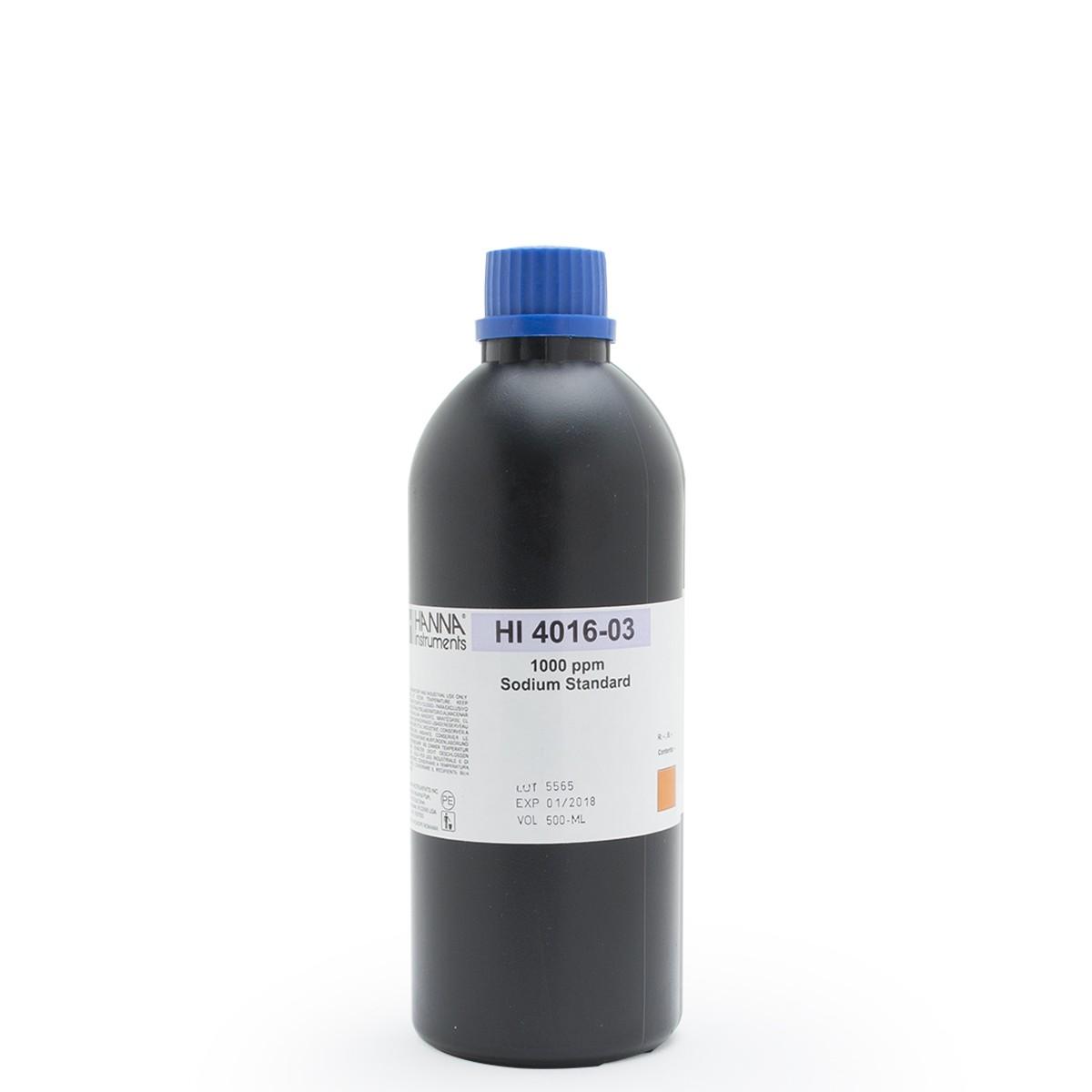 Sodium ISE 1000 ppm Standard - HI4016-03