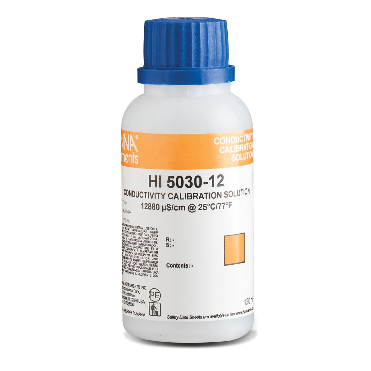 HI5030-12 12880 µS/cm EC (120 mL) bottle