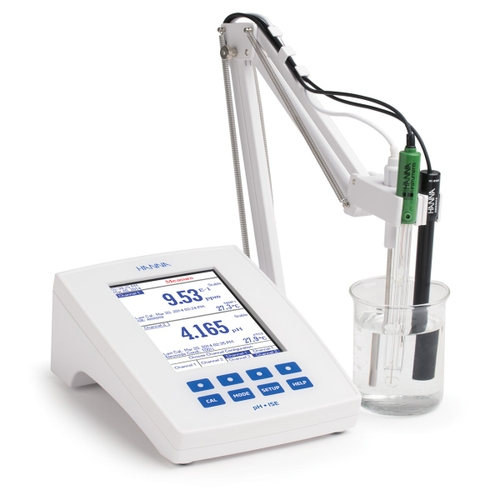 HI5222 Research Grade pH/ISE/ORP Meter with CAL Check™