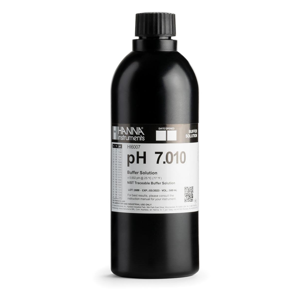 HI6007 pH 7.010 Millesimal Calibration Buffer (500 mL)