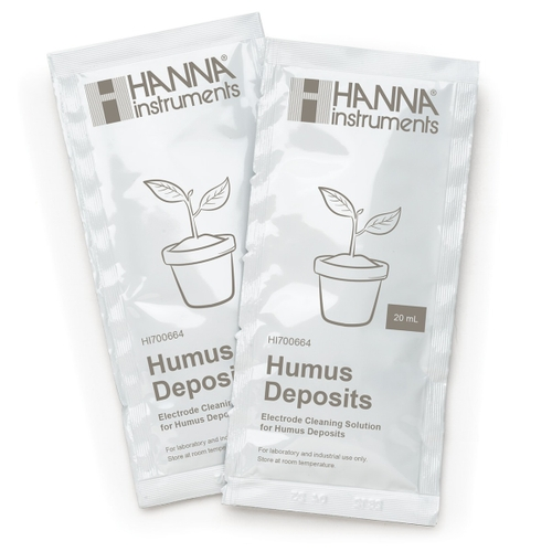 HI700664P Cleaning Solution for Humus Deposits (25 x 20 mL Sachets)