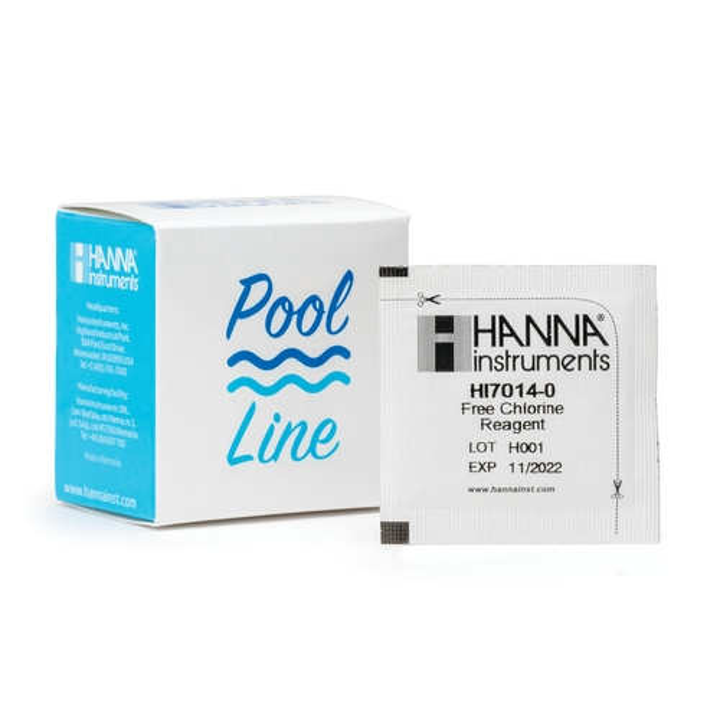 HI7014-25 Pool Line Free Chlorine Checker HC Reagents