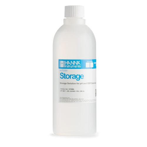 HI70300L Electrode Storage Solution (500 mL)