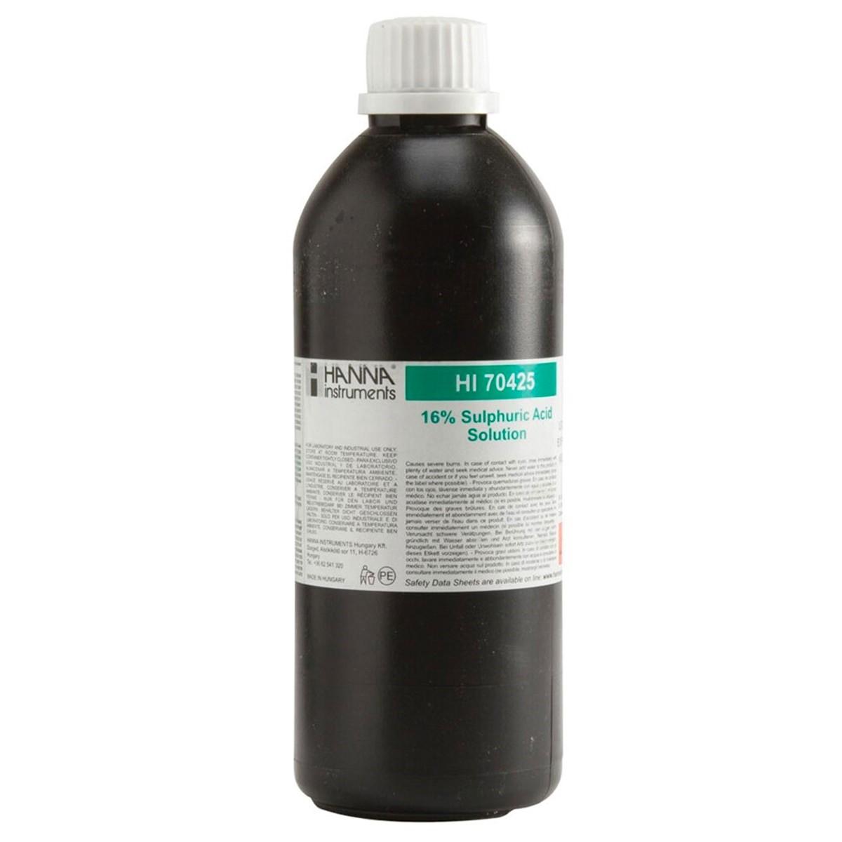 Sulfuric Acid Reagent 16%, 500 mL - HI70425
