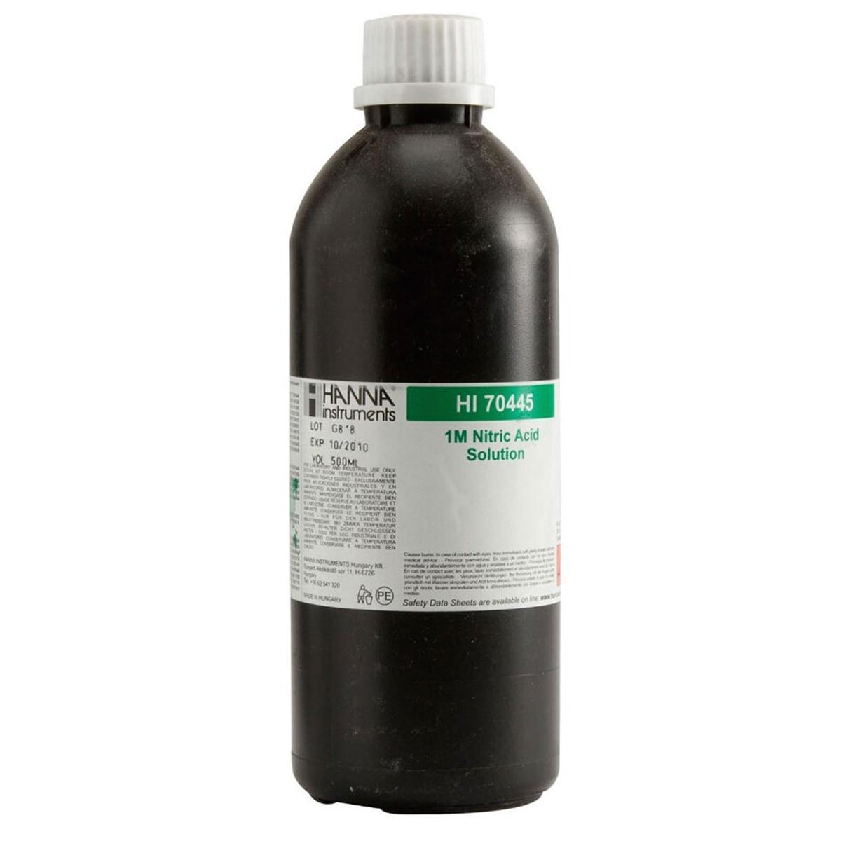 Nitric Acid Solution 1M, 500 mL - HI70445