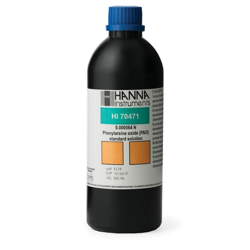 Phenylarsine Oxide (PAO) Solution (0.000564N), 500 mL - HI70471