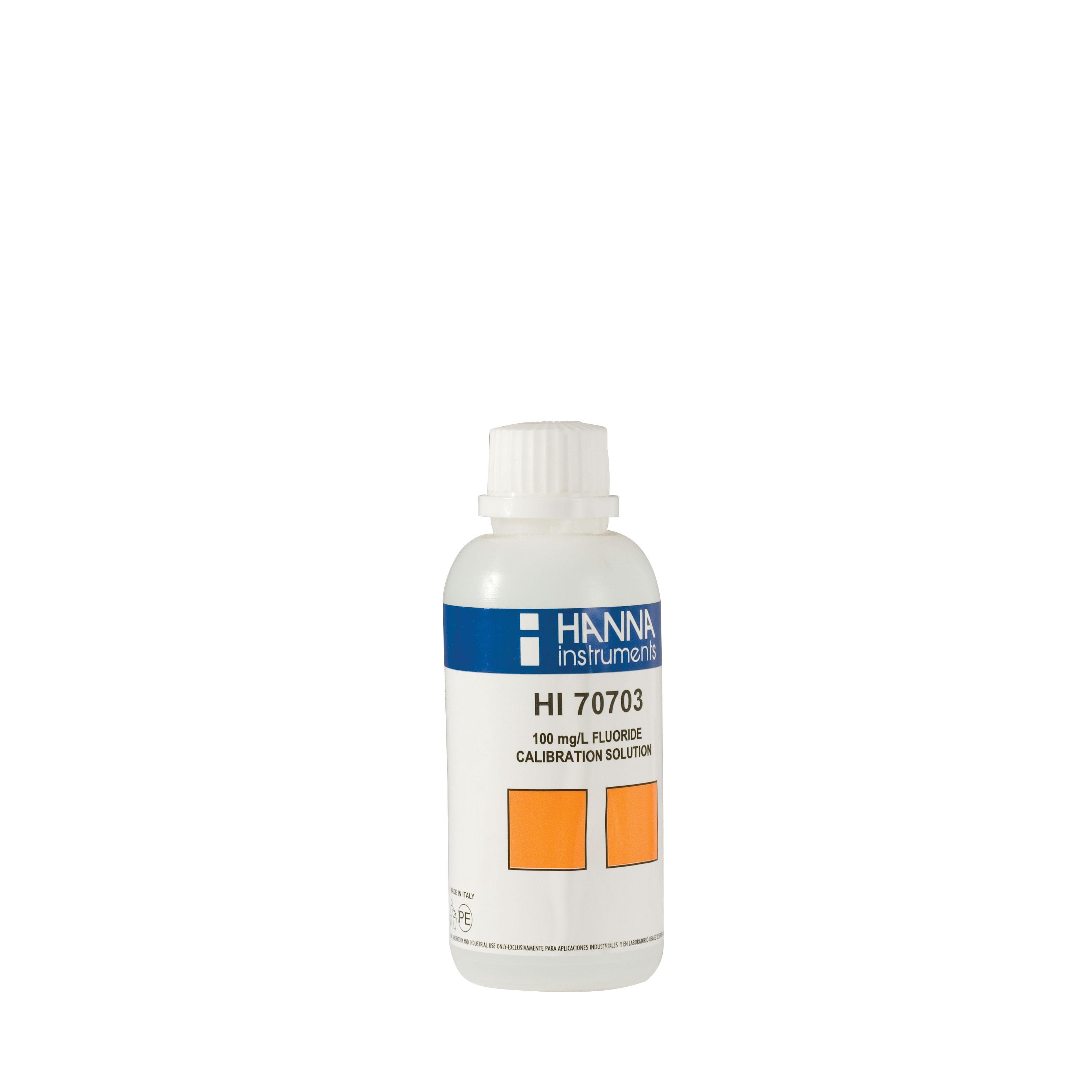 HI70703M Fluoride Standard Solution 100 mg/L (230 mL)