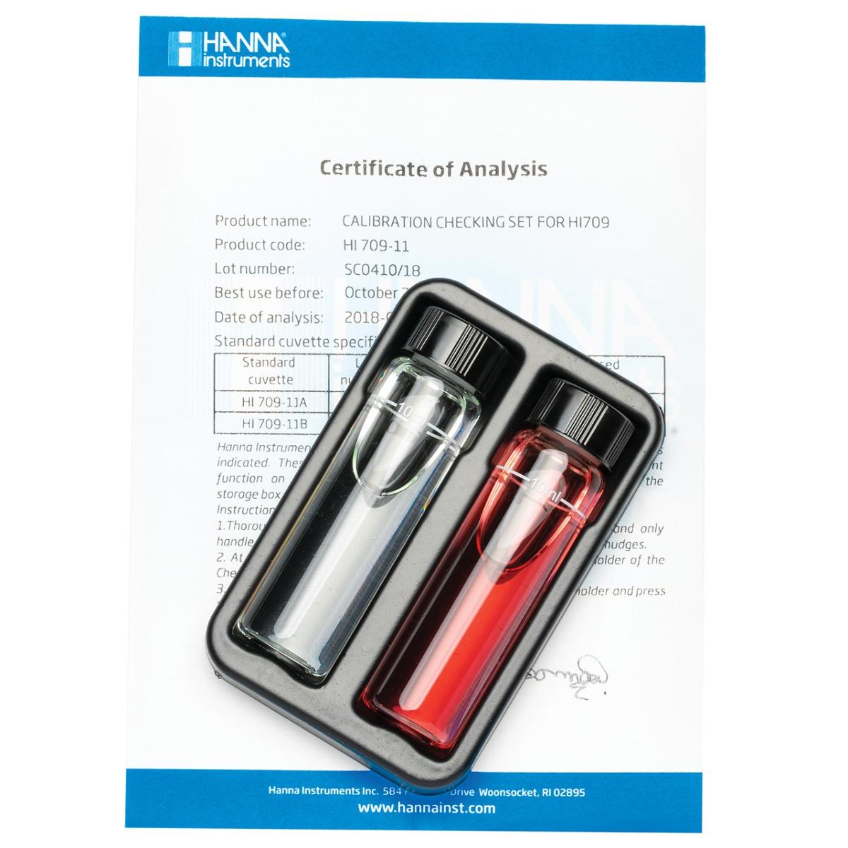 HI709-11 Manganese High Range Checker®HC Calibration Set