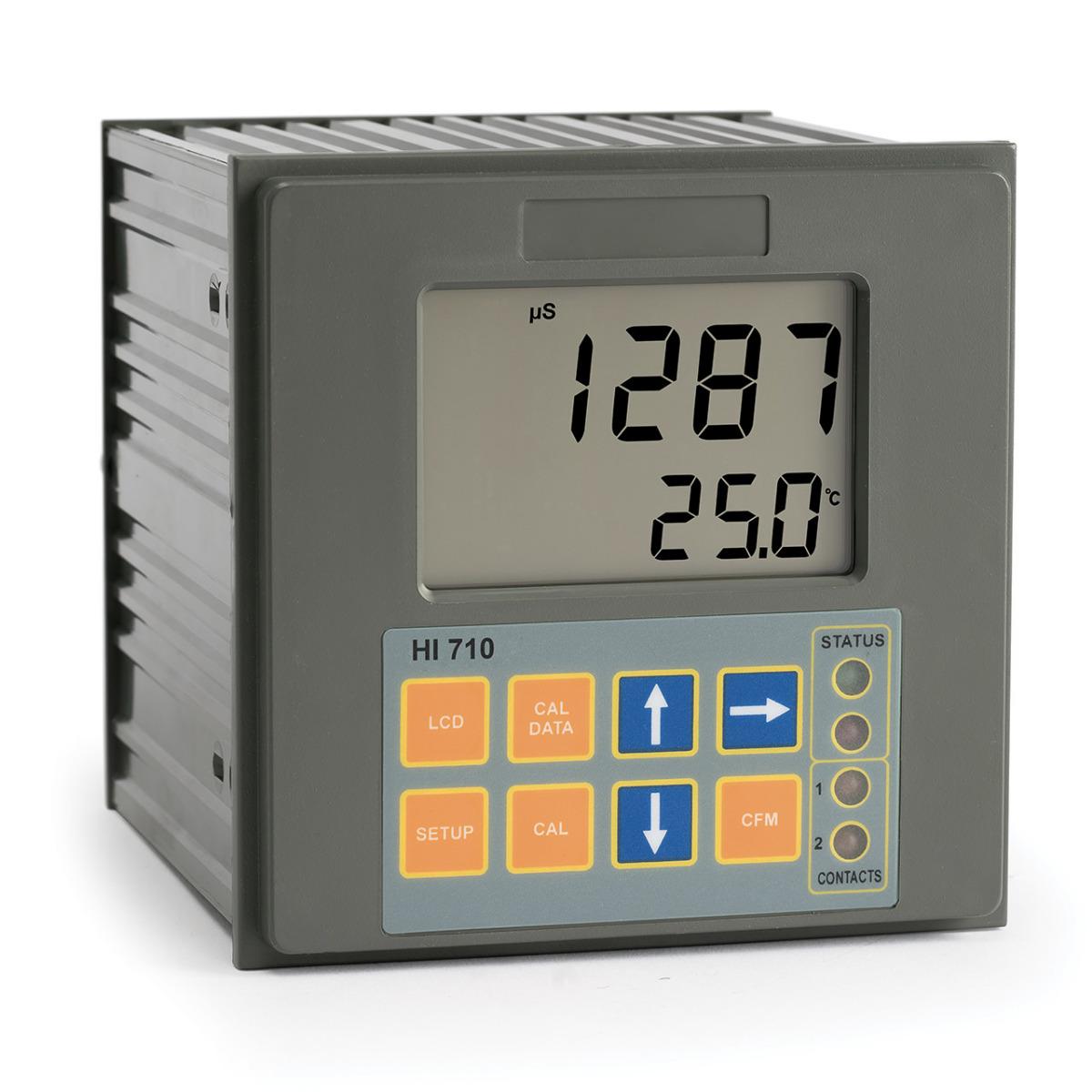 HI710 Panel-mounted Conductivity & TDS Controller