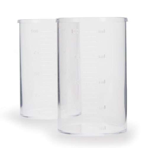 HI740036P Plastic Beaker Set, 100 mL