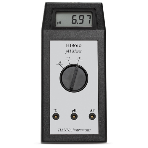 Portable pH Meter - HI8010