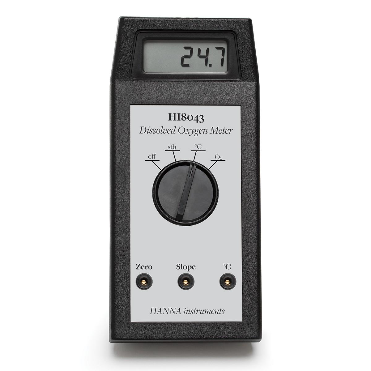 Portable Dissolved Oxygen meter - HI8043