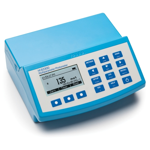 Advanced Multiparameter Benchtop Photometer and pH meter - HI83300