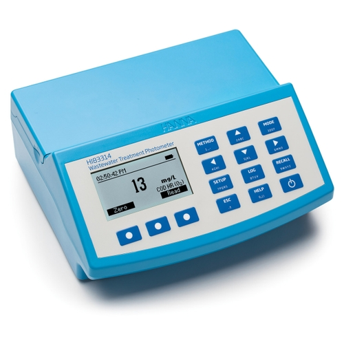 Wastewater Multiparameter Benchtop COD Photometer and pH meter - HI83314