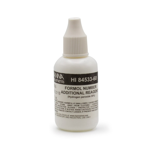 Hydrogen Peroxide Reagent for Formol Number Mini Titrator - HI84533-60
