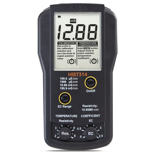 HI87314 EC and Resistivity Portable Meter