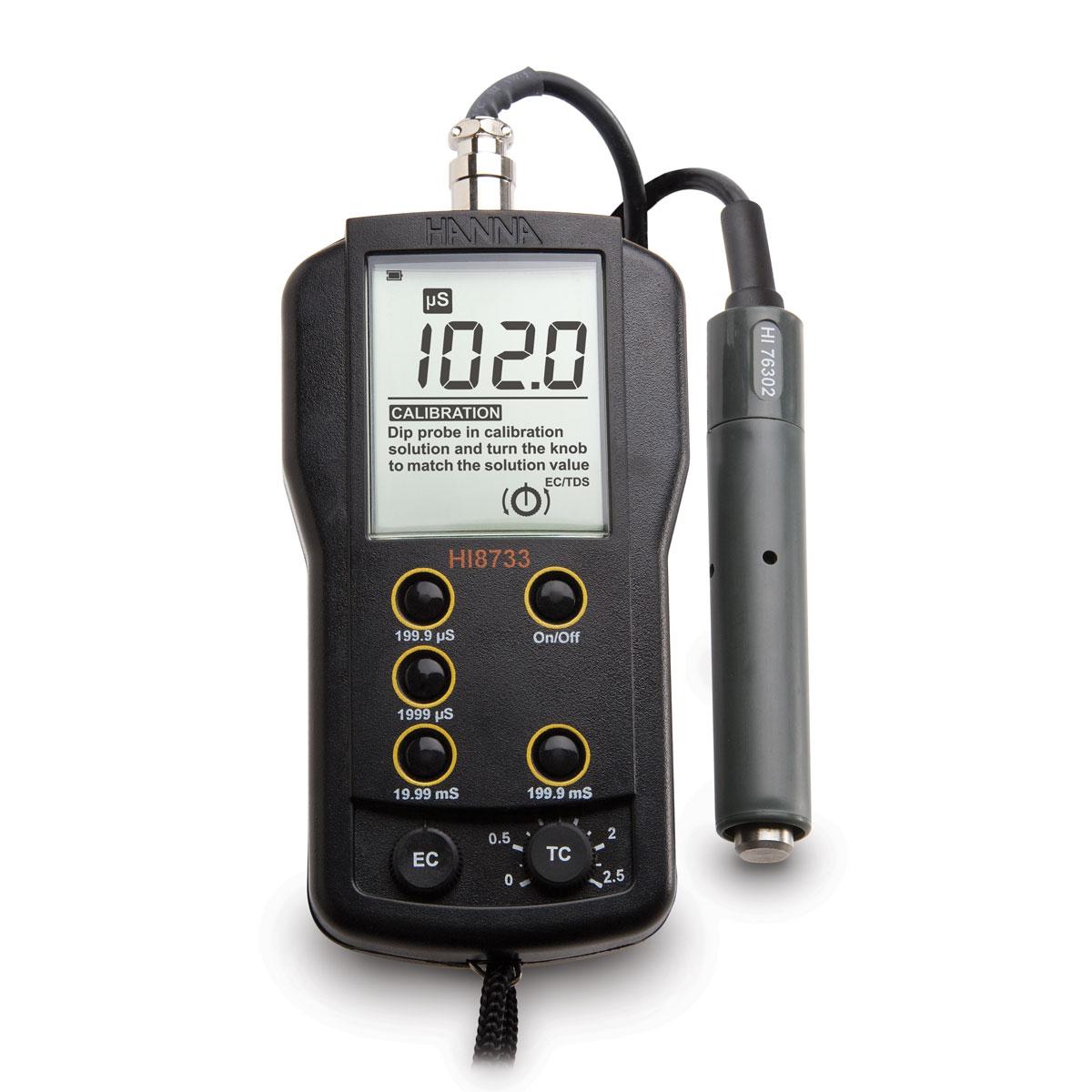 HI8733 Multi-range EC Meter