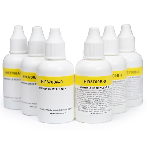 HI93700-03 Ammonia LR Colorimetric Reagents (300 tests)