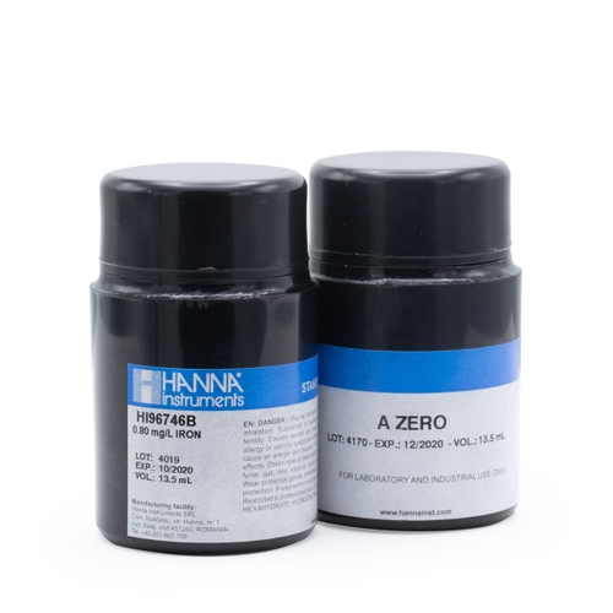 Iron Low Range CAL Check™ Standards - HI96746-11