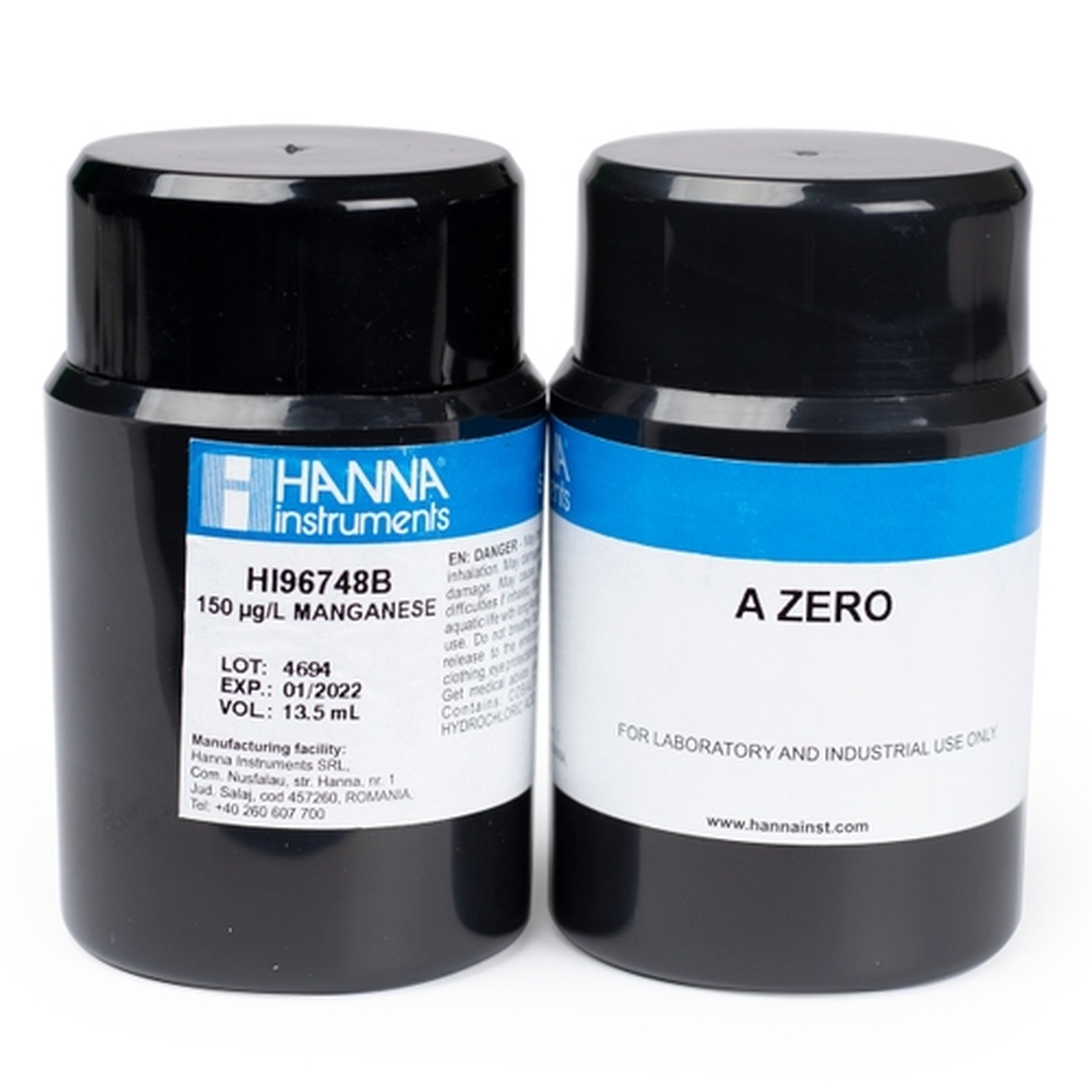 HI96748-11 Manganese Low Range CAL Check™ Standards