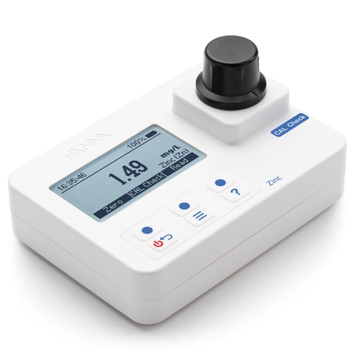 Zinc Portable Photometer with CAL Check – HI97731
