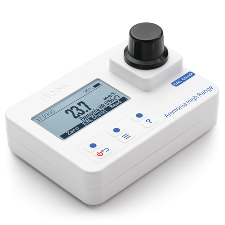 Ammonia High Range Portable Photometer – HI97733