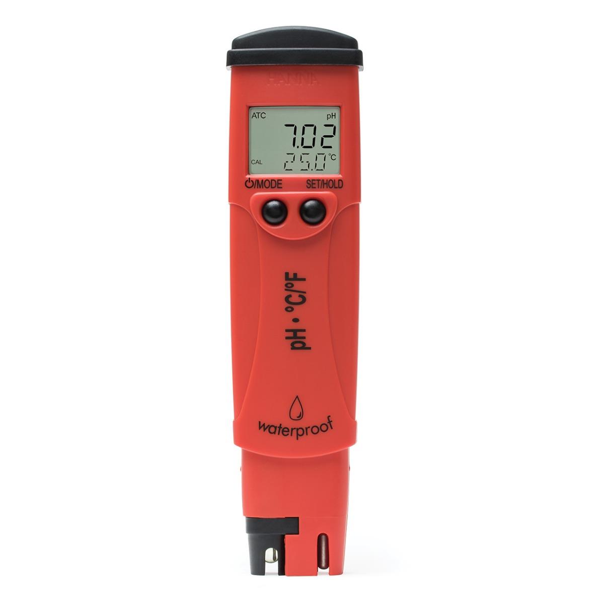 HI98128 pHep®5 pH resolution: 0.01 pH