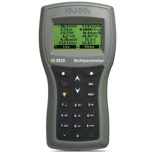 HI9829 Multiparameter Meters with GPS