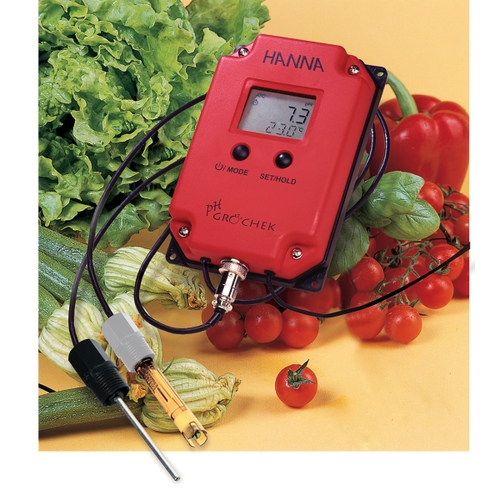 HI991401 GroChek pH and Temperature Monitor