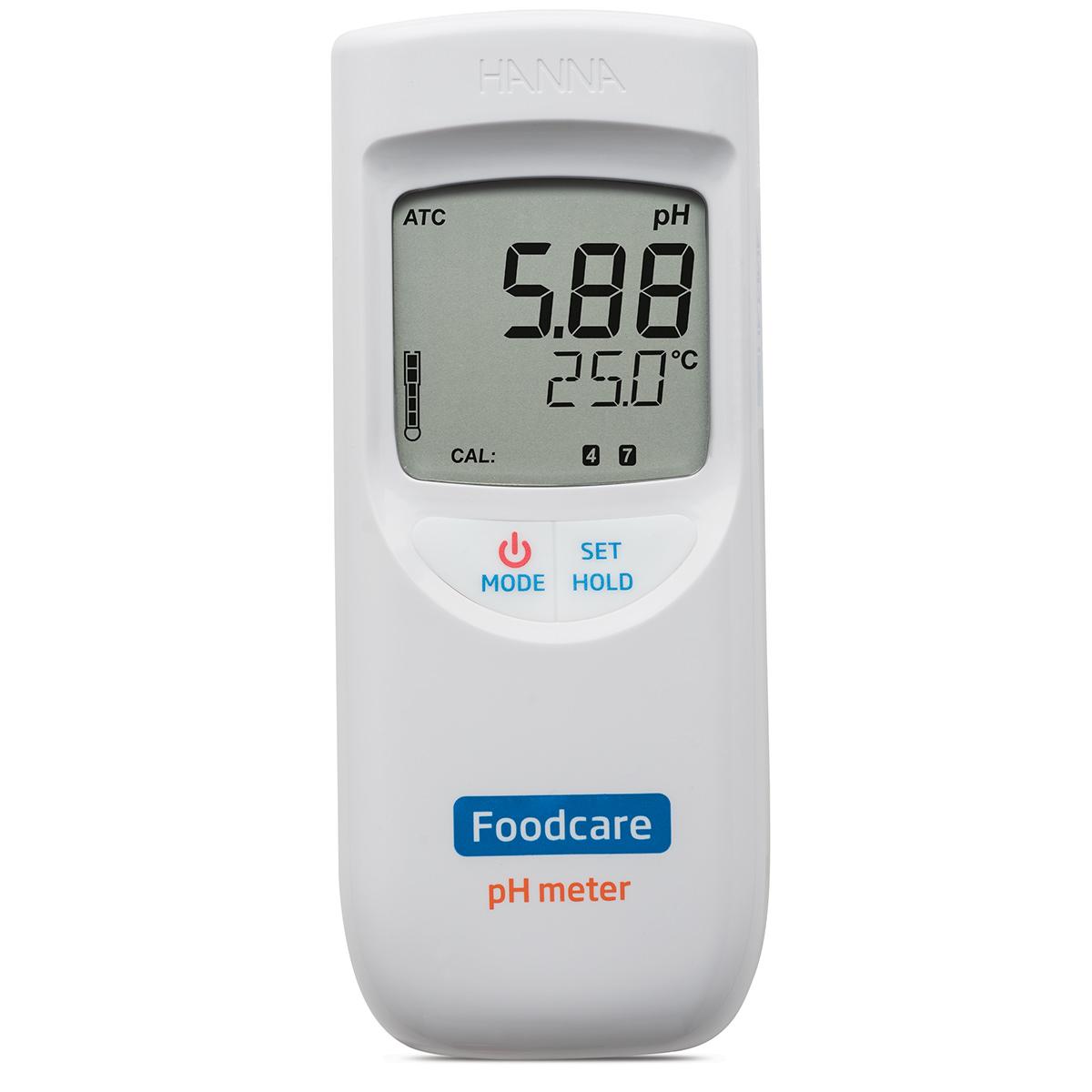 HI99161 HACCP pH Meter for Food and Dairy