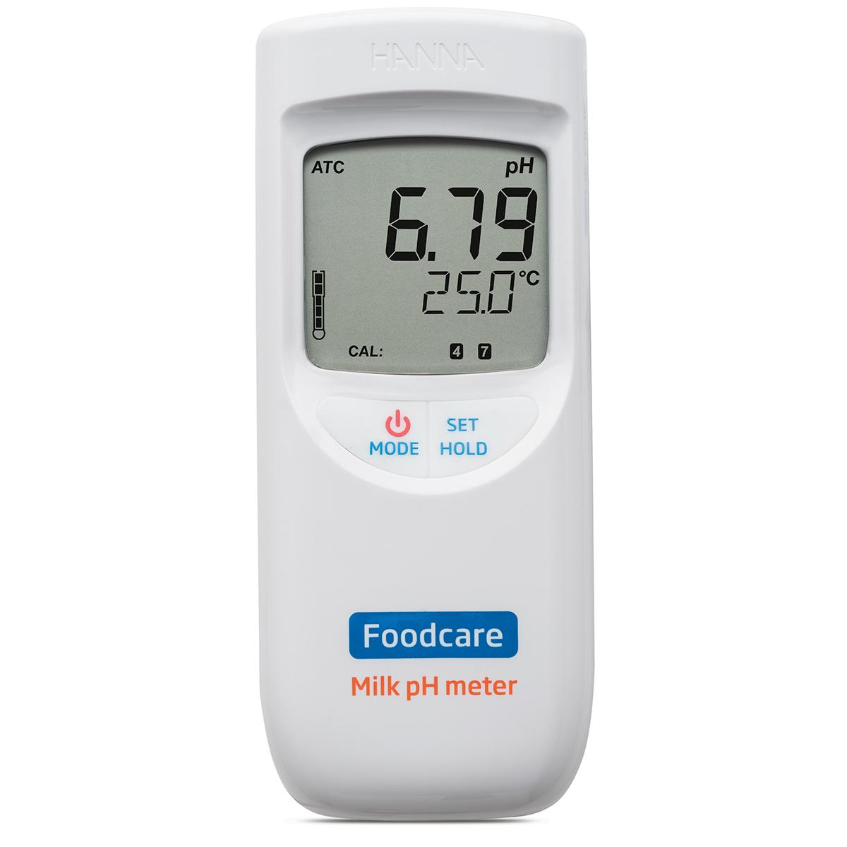 HI99162 Portable pH Meter for Milk