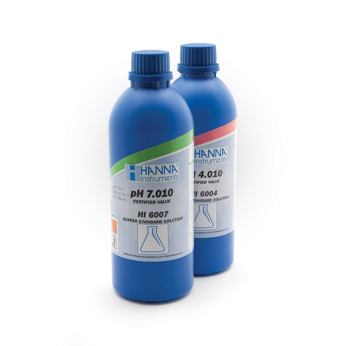 HI6074 pH 7.413 Millesimal Calibration Buffer (500 mL)