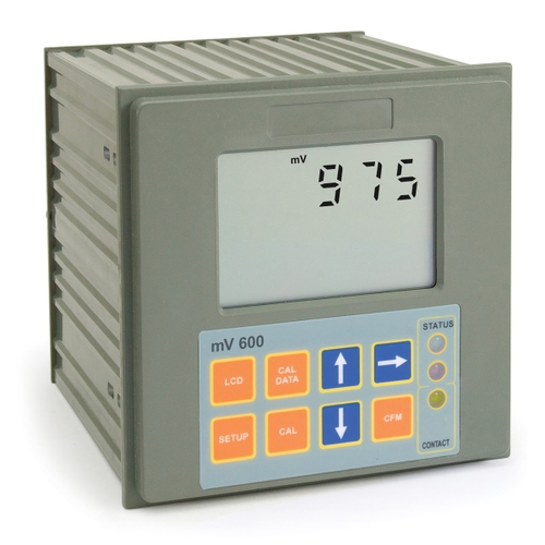 mV600 Panel-mounted ORP Digital Controller