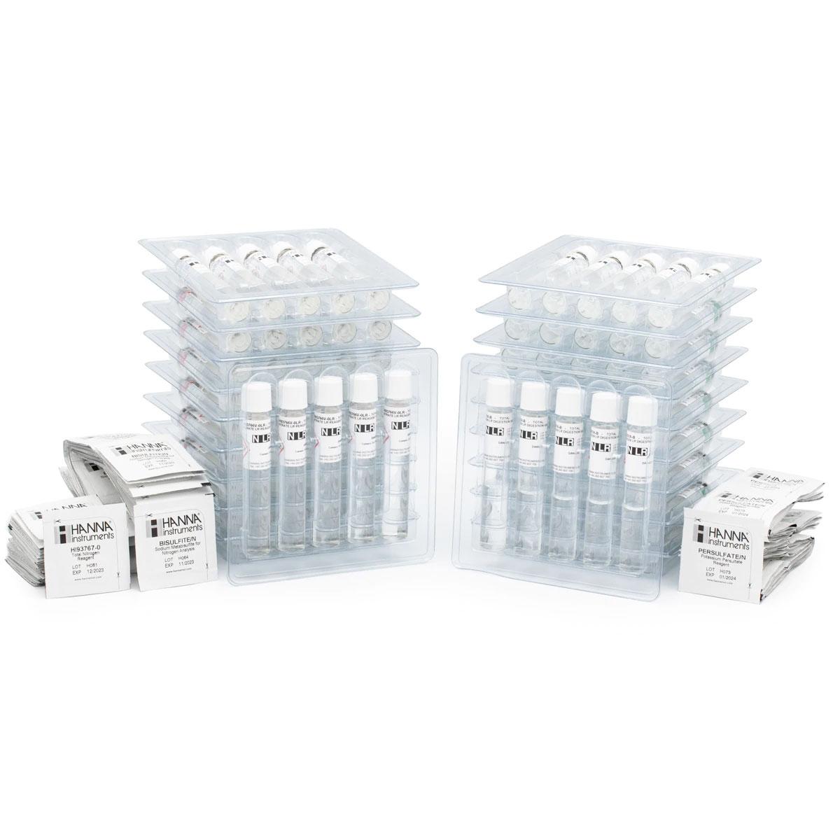 Total Nitrogen Low Range Reagents (50 tests) - HI93767A-50