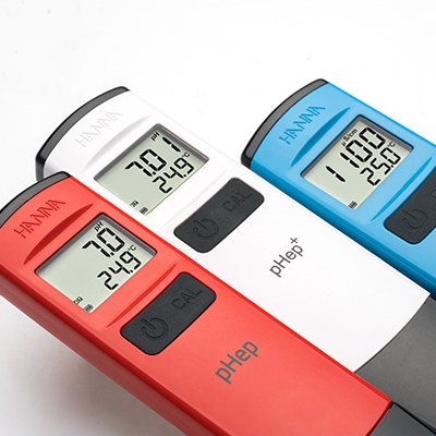 Hanna Instruments - Redesigned pH testers.