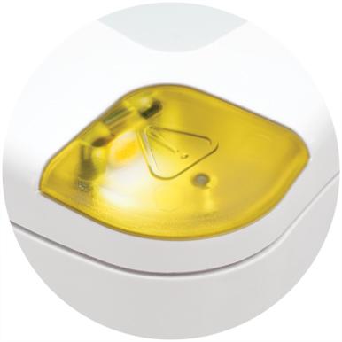Flashing yellow