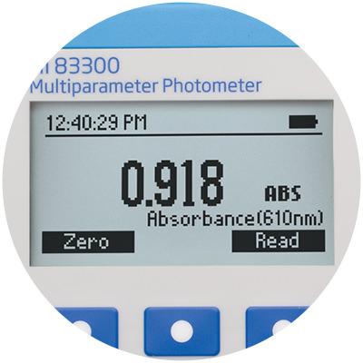 Absorbance measurement mode