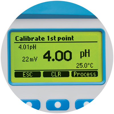 Automatic two-point calibration