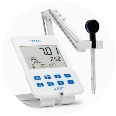 2015 — World's first pH electrode and meter with Bluetooth Smart technology (HALO and edge blu)